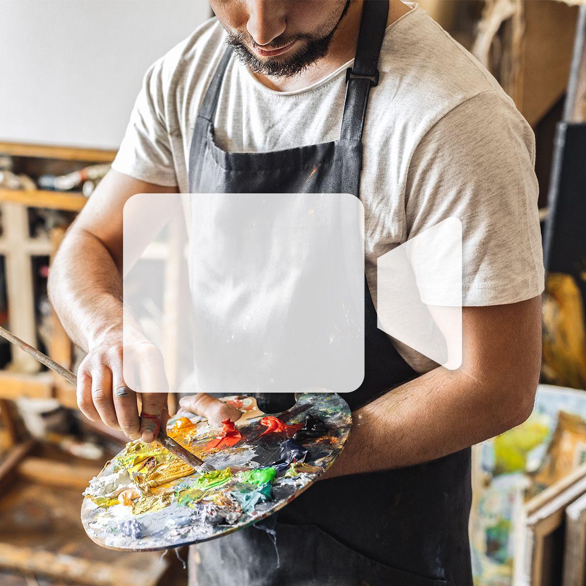 En ligne - Peinture à l'huile et acrylique