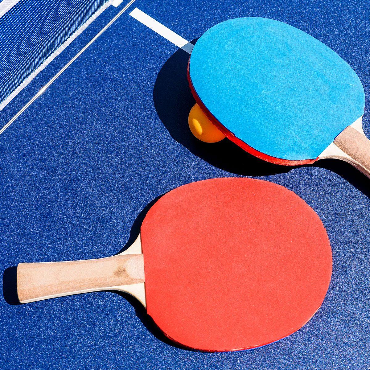 Tennis de table - Séance du 27 juillet