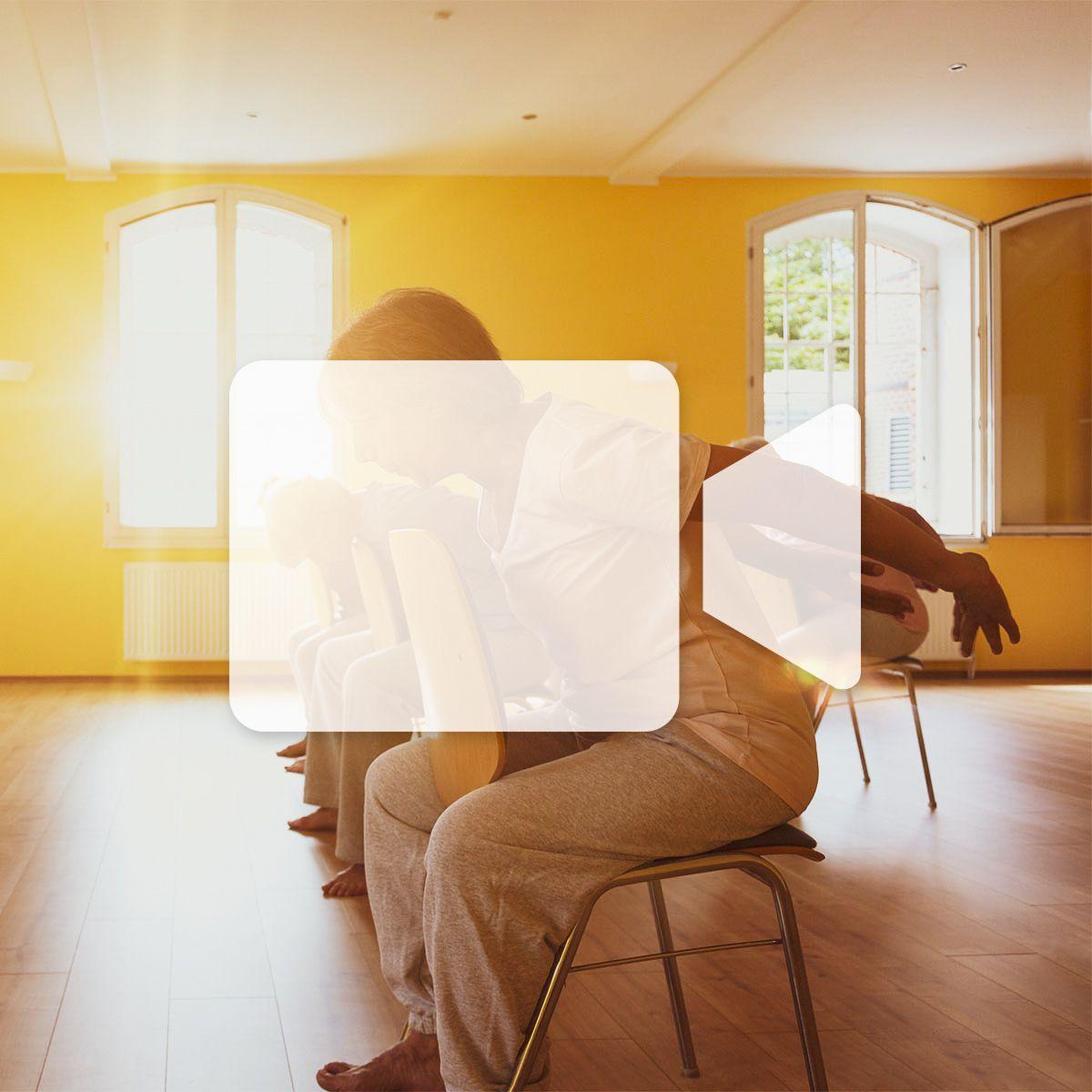 En ligne - Yoga sur chaise