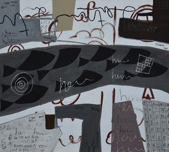 Oeuvre de l'artiste visuel Komi Seshie 05- LA Nage Synchronisée