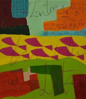 Oeuvre de l'artiste visuel Komi Seshie 07- LA Nage Synchronisée