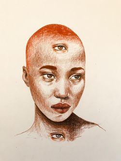 Oeuvre de l'artiste visuelle Juliette Gagnon Lachapelle - The eyes you don't see