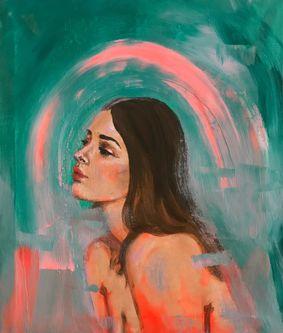 Oeuvre de l'artiste visuelle Juliette Gagnon Lachapelle  - Your sins on my body