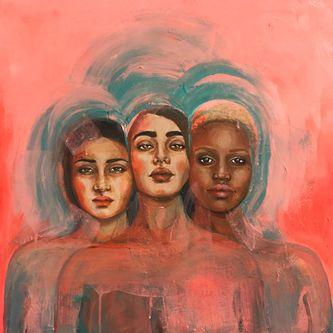 Oeuvre de l'artiste visuelle Juliette Gagnon Lachapelle - Sisterhood