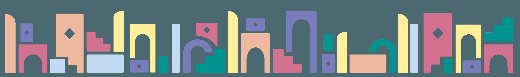 Blocs de construction colorés