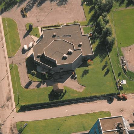 Vue aérienne du MIFO actuel