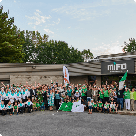 Participants du 4 à 6 Franco 2019 devant le MIFO