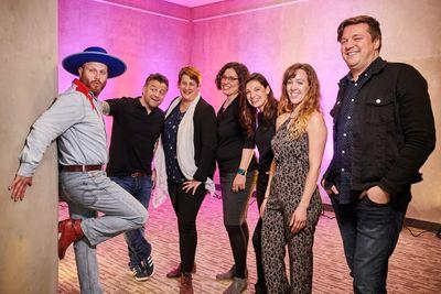 Photo des artistes ayant participés au lancement de saison 2019-20 du MIFO