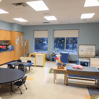 Locaux des services de garde du MIFO à l'École élémentaire catholique l'Étoile-de-l'Est