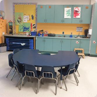 Locaux des services de garde du MIFO à l'École élémentaire publique L'Odyssée