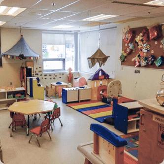 Locaux des services de garde du MIFO à l'École élémentaire catholique Notre-Dame-des-Champs