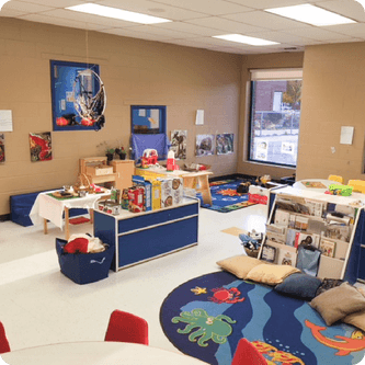Locaux des services de garde du MIFO à l'École élémentaire catholique des Pionniers