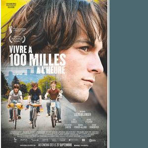 Affiche du film Vivre à 100 milles à l'heure