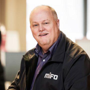 Gilbert Gosselin, coordonnateur du CSMO et des activités récréatives du MIFO