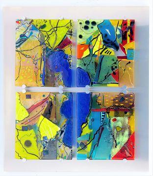 Oeuvre Lakeside Reveries d'Angela Verlaeckt Clark