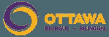 Logo d'Ottawa bilingue
