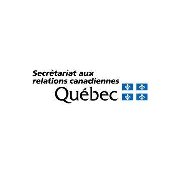 Logo du Secrétariat du Québec aux relations canadiennes