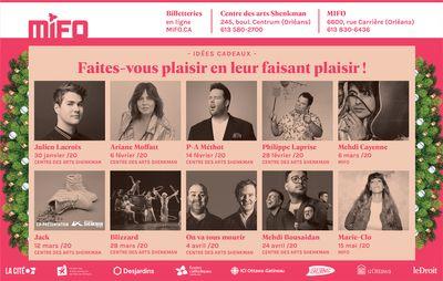 Publicité MIFO pour la campagne des Fêtes