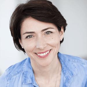 L'atrice Nathalie Cavezzali