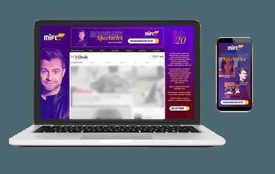 Exemples de placements publicitaires sur le web