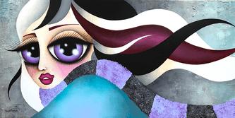 Stella, oeuvre de l'artiste-peintre Stéphanie Martineau