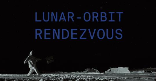 Titre Lunar-Orbit Rendezvous