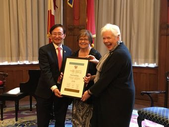 Trèva Cousineau récipiendaire du Prix d'excellence de l'Ontario pour les personnes âgées